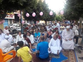 الآلاف من المواطنين أدوا صلاة العيد بالإسماعيلية