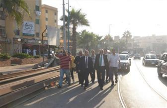 محافظ الإسكندرية يقوم بجولة تفقدية بشوارع حى الجمرك أول أيام الفطر المبارك| صور