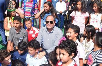 شاهد.. كلمات مؤثرة للرئيس السيسي في الاحتفال بالعيد مع أسر الشهداء| فيديو