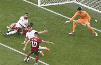 مونديال روسيا.. كيف مرت الـ45 دقيقة الأولى من مباراة المغرب وإيران «الطوفان والسد العالى»
