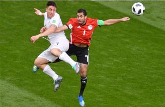 أحمد فتحي: متفائل بتأهل مصر لدور الـ16 رغم الخسارة أمام أوروجواي