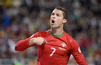كريستيانو رونالدو يسجل الهدف الأول للبرتغال في مرمى إسبانيا من ضربة جزاء