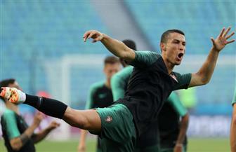 رونالدو يسجل هدفه الثاني في شباك إسبانيا