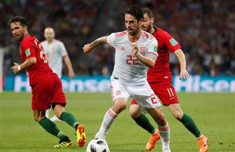 ناتشو يقلب النتيجة ويتقدم لإسبانيا على البرتغال 3-2