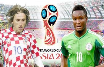 المنتخب الكرواتي يحقق فوزا مستحقا على نظيره  النيجيري  2-صفر
