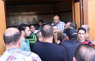 تشييع جنازة ماهر عصام من مسجد الشرطة بالشيخ زايد | صور