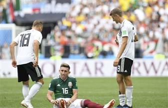 ألمانيا والمكسيك: كارت أصفر لتوماس مولر في الدقيقة 83