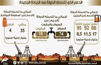 تعرف على قيمة الدعم الذي تتحملة الدولة بعد الزيادة الجديدة في أسعار المنتجات البترولية | إنفوجراف