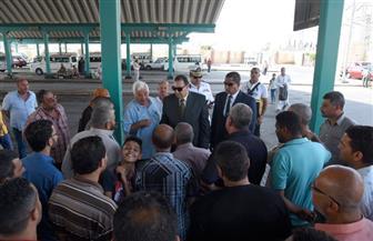 سكرتير عام الإسكندرية يتفقد الموقف الجديد لمتابعة تطبيق اللائحة الجديدة| صور