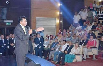 أشرف صبحي يلتقي موظفي وقيادات وزارة الشباب والرياضة | صور
