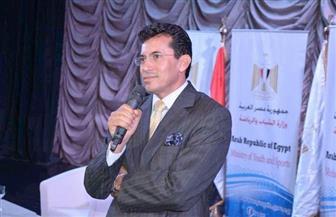 وزير الرياضة يكشف سبب زيارته للأهلي والزمالك