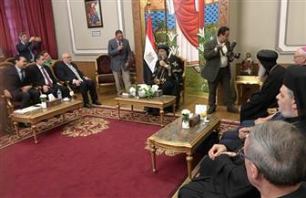 البابا تواضروس لوفد الحجاج الإيطاليين: نورتوا مصر  صور