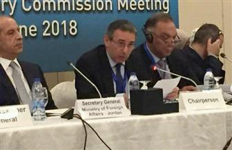 سفير مصر في الأردن يترأس اجتماع اللجنة الاستشارية للأونروا