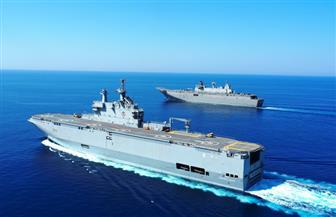بالذخيرة الحية ومشاركة ميسترال.. تدريب مشترك بالبحرين المتوسط والأحمر للبحرية المصرية والإسبانية| صور وفيديو