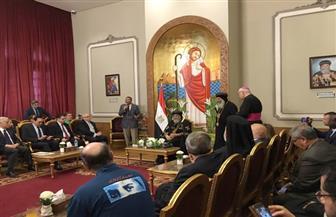 البابا تواضروس يستقبل وفدًا سياحيًا لجمعية يونيتلز الإيطالية   صور