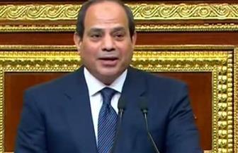 """الرئيس السيسي لـ""""الشعب"""": أنا على العهد معكم.. ومبدؤنا هو العمل"""