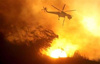 حريق هائل في نيو مكسيكو الأمريكية يجبر سكان قرية على إخلائها