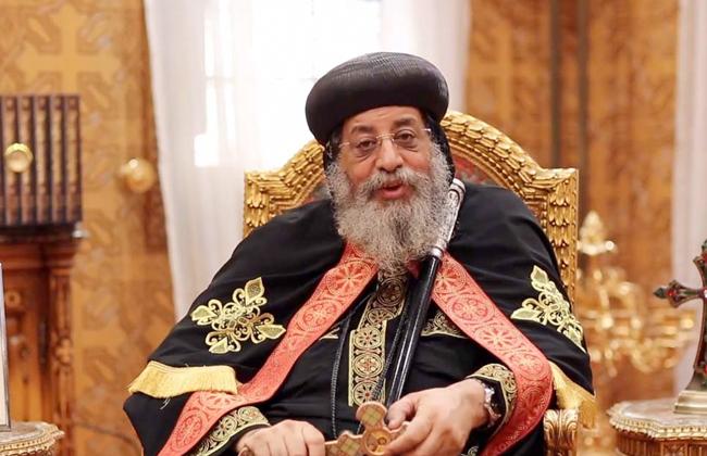 البابا تواضروس: مصر كلها بقيادة الرئيس السيسي شعلة نشاط من أجل التقدم الاقتصادي -
