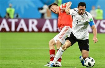 الإعلام الروسى يحلل أحداث مباراة مصر ويتابع احتفالات المشجعين