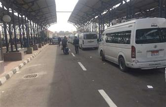 استمرار الحملات الميدانية على مواقف سيارات القرنة غرب الأقصر