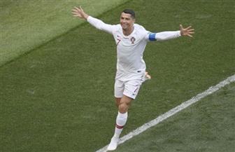 البرتغال يتقدم على المغرب بهدف كريستيانو رونالدو في الدقيقة الرابعة