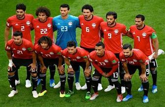 لاعبو المنتخب المصرى يتعاهدون على الفوز بمباراة السعودية