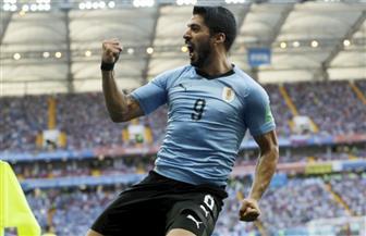 أوروجواي تتقدم علي السعودية بهدف في الدقيقة 23