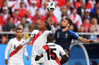 فرنسا تفوز على بيرو وتتأهل رسميا لدور الستة عشر مع أوروجواي وروسيا