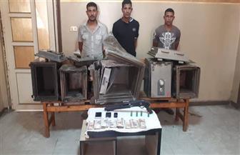 القبض على المتهمين بالسطو على جمعية المستثمرين بالعاشر من رمضان