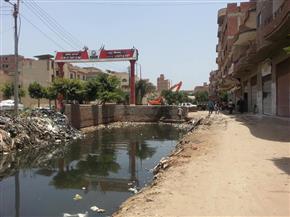 ارتفاع منسوب مياه مصرف محلة زياد بسمنود يؤدى لتسربها للمنازل   صور