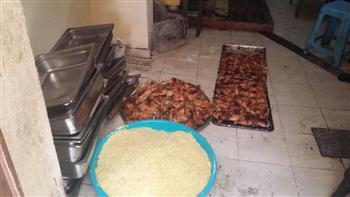 ضبط 250 كيلو رنجة فاسدة بدكرنس.. وإعدام 67 كيلو أغذية بأحد مطاعم المنصورة | صور