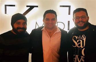 كريم أبوذكري يتعاقد مع الكاتبين هاني سرحان وإياد صالح على مسلسل جديد | صور