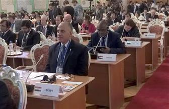 وزير الري يلقى كلمة مجموعة الـ77 والصين في المؤتمر الدولي رفيع المستوى للمياه بطاجكستان| صور
