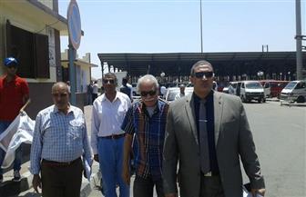 نائب محافظ القاهرة يتفقد عددا من مواقف الأقاليم للتأكد من تطبيق تعريفة الركوب الجديدة | صور