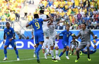 الشوط الأول.. تعادل سلبي بين البرازيل وكوستاريكا