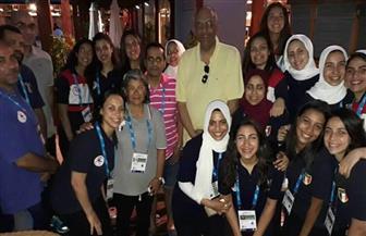 سفير مصر بمدريد يزور البعثة المشاركة في دورة ألعاب البحر المتوسط   صور