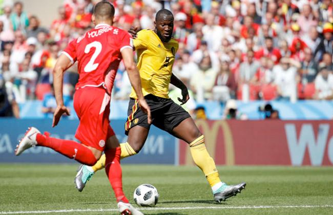 كأس العالم 2018.. بلجيكا تتقدم على تونس 3-1 في الشوط الأول -