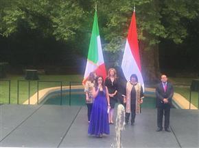 وزيرتا الثقافة والتضامن تشهدان احتفال السفارة المصرية  في روما   صور