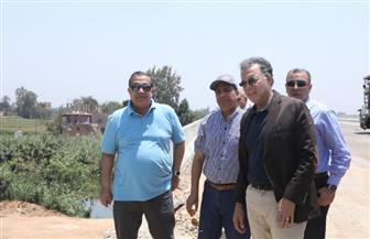وزير النقل يتابع التشطيبات النهائية للقوس الشمالي الغربي للدائري الإقليمي  صور