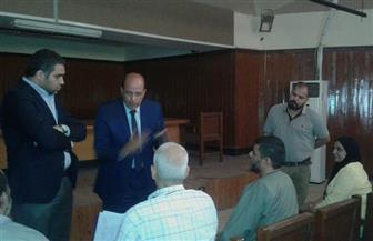 رئيس حي السلام أول يلتقي عضو البرلمان لمناقشة مشاكل المواطنين|صور