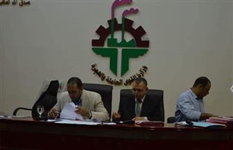 """""""المراغي"""" يتقدم لرئاسة اتحاد العمال دون منافس  صور"""
