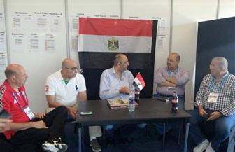 سفير مصر بإسبانيا يجتمع بإدارة بعثة مصر في ألعاب البحر المتوسط بتراجونا | صور