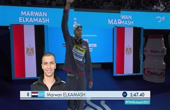 مروان القماش يضيف ميدالية سادسة لمصر بدورة البحر المتوسط ببرونزية في السباحة