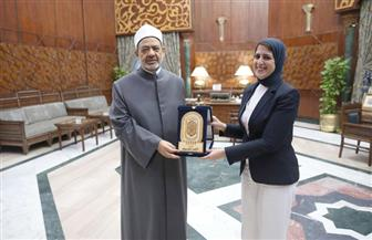 الإمام الأكبر خلال استقباله وزيرة الصحة: المرأة المصرية أثبتت قدرتها على تولي المناصب القيادية