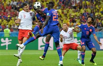 كولومبيا تقسو على بولندا بثلاثية وتطيح بها من كأس العالم