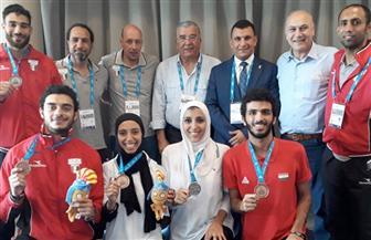 ذهبية وأربع فضيات وبرونزية حصيلة مصر من الميداليات في ألعاب البحر المتوسط