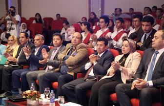 """وزير الشباب والرياضة يشهد حفل تكريم """"سفراء ضد الفساد"""""""