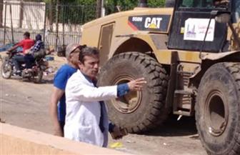 رئيس حي عين شمس: الانتهاء من سوق الجراج بإجمالي 28 باكية وتسكين الباعة الجائلين|صور