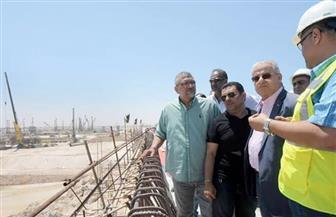 """رئيس """"المقاولون العرب"""" يتفقد أعمال مشروعات مدينة العلمين الجديدة   صور"""