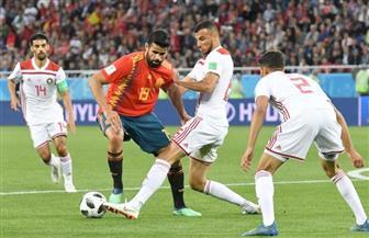 التعادل الإيجابي يفرض نفسه على الشوط الأول بين إسبانيا والمغرب